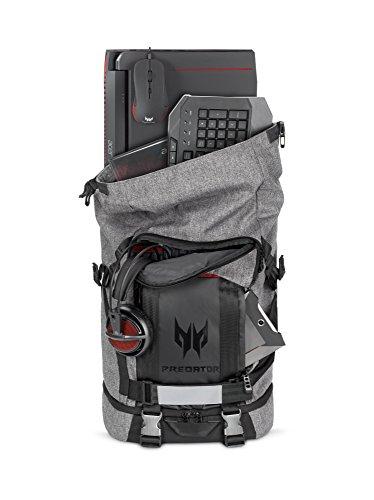 Predator Gaming Rolltop Rucksack (geeignet für alle 15