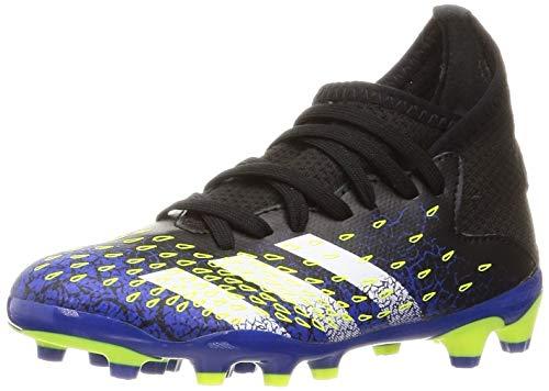 adidas Predator Freak .3 MG J, Zapatillas de fútbol, NEGBÁS/FTWBLA/Amasol, 38 EU
