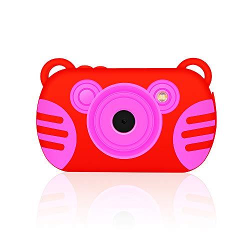 GordVE 2.7 Inch Digital Camera for Girls/Boys, HD 1080P Kids Camera Gifts Mini Camera Waterproof, 8X Digital Zoom Video Camera Recorder with Flash Mic