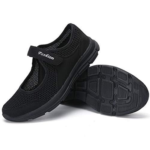 [todaysunny] 船型底ナースシューズ レディース ダイエットシューズ 厚底スニーカー 姿勢矯正 ダイエット 美脚 軽量 レースアップ ウォーキングシューズ 看護師 作業靴 歩きやすい 疲れない 婦人靴 厚底シューズ ブラック-2 24.5 cm