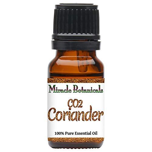 Miracle Botanicals CO2 Extracted Coriander Essential Oil - 100% Pure Coriandrum Sativum - Therapeutic Grade (10ML)