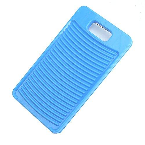 ACAMPTAR Tabla de Lavado de plastico Tablero de Lavado Limpieza de Camisetas Lavanderia para Ropa de Nino 28 * 15.5cm