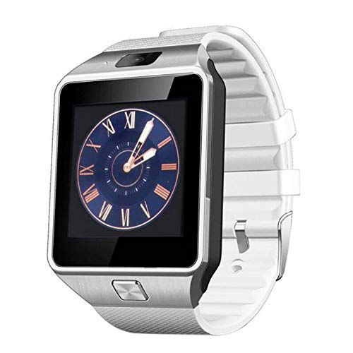 Moligh doll Dz09 Intelligente Uhr Armbanduhr Unterstützung Mit Kamera SIM Tf Karte Intelligentuhr Für Ios Android Handys Wei?