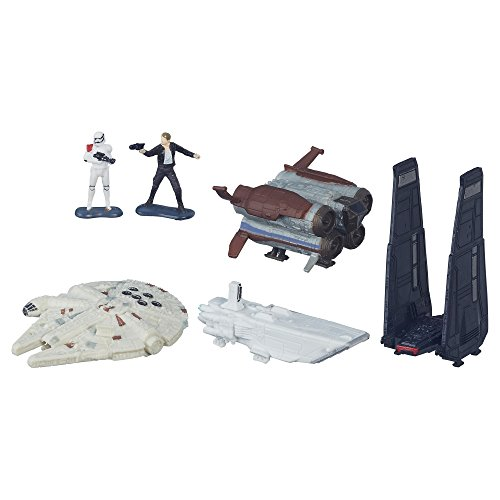 Micro Machines Star Wars: The Force Awakens Deluxe Vehicle Pack Space Pursuit