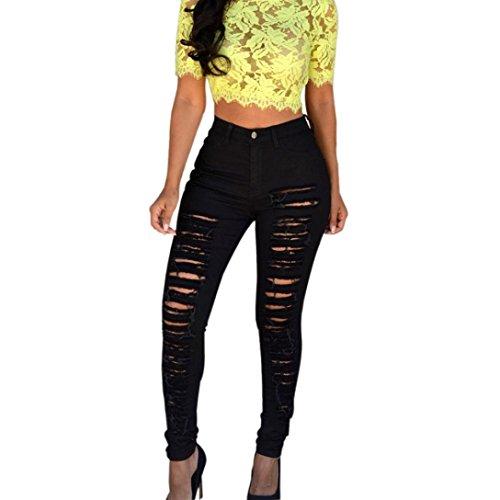 Da Donna Premium forma e modellare vita alta Jeans Bootcut semplicemente essere