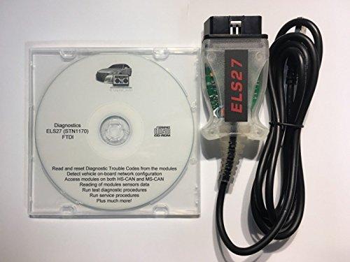 capital_auto ELS27 FORScan OBD2 Diagnostic Scanner for Ford/Mazda/Lincoln/Mercury FTDI Chip