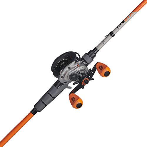 Abu Garcia Max STX Low Profile Baitcast Reel and Fishing Rod Combo