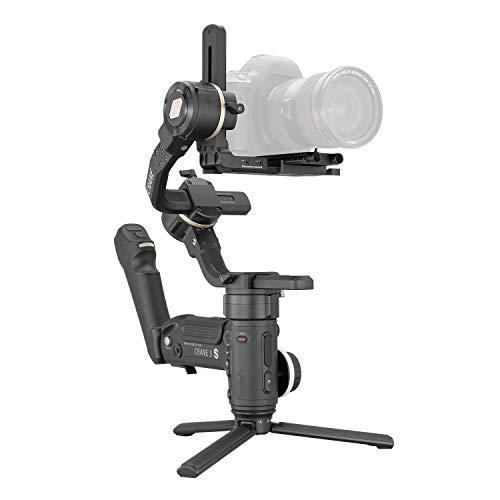 Zhiyun Crane 3S cardán estabilizador para cámaras réflex digitales sin espejo para cámara Sony Canon, Panasonic Nikon, Blackmagic 6K 4K, diseño modular, carga útil máxima 6,5 kg (mango Smartsling)