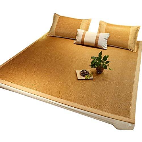 ZXL zomer slapen beddengoed matras rotan bed koeling topper pad kussen opvouwbaar dubbel/eenpersoonsbed (grootte: 90x190 cm)
