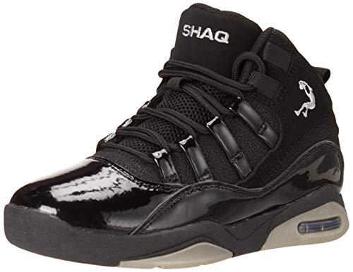 Shaq YB Full Press Basketball Shoe, Black, 2 US Unisex Little Kid