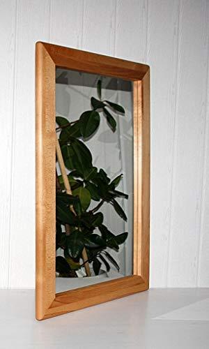 Wandspiegel 70x100 Vollholz Dielenspiegel Spiegel Kernbuche massiv geölt