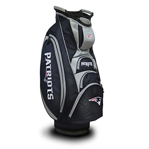%13 OFF! Team Golf NFL New England Patriots Victory Golf Cart Bag, 10-way Top with Integrated Dual H...
