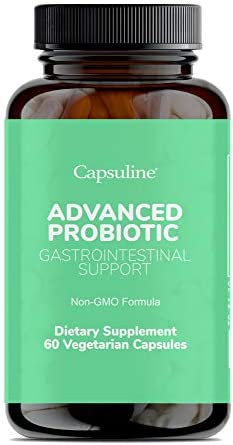 Capsuline Advanced Probiotic DE111 Bacillus Subtilis Daily Dietary Supplement 11 5 Billion CFU product image