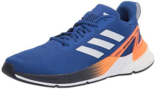 adidas Tênis de Corrida Masculino Super Response, Equipe azul royal/branco/laranja gritante, 11
