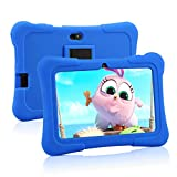 Pritom 7 Zoll Kids Tablet, Quad Core Android, 1 GB RAM + 16 GB ROM, WiFi, Bluetooth, Dual Camera, Schulung, Spiele, Kindersicherung, Kindersoftware mit...