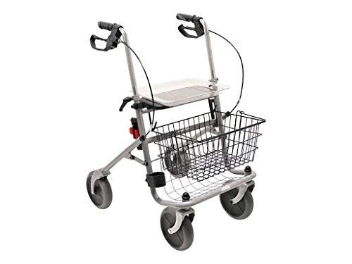 Drive Medical Standard Rollator Cristallo, silber