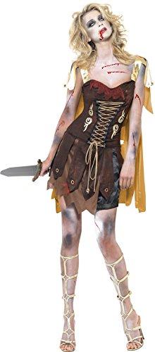 Generique - 353352 - Déguisement Zombie Gladiateur Sexy Femme Halloween - Large
