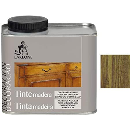 Lakeone 50101/1/4L.02 Tinte para La Madera, Roble Oscuro, 250 ...