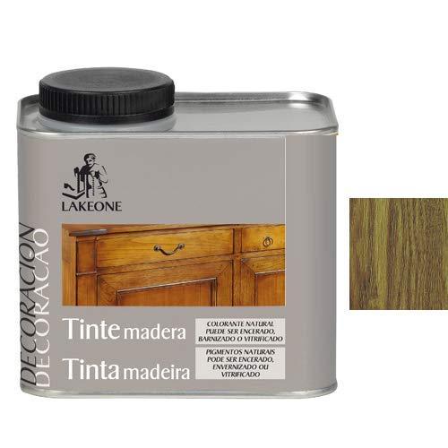 Lakeone 50101/1/2L.02 Tinte para La Madera, Roble Oscuro, 450 ml