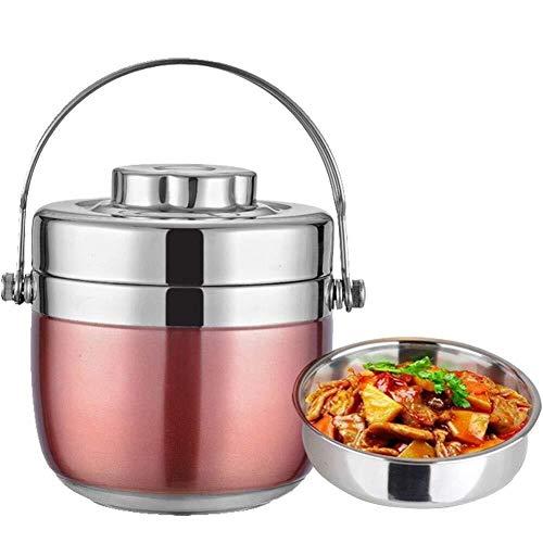 Boite isotherme repas chaud Soupe Thermos Chaud Alimentaire Flask Isolé Alimentaire Pot En Acier Inoxydable Thermos Récipient De Nourriture For L'alimentation Et Liquides