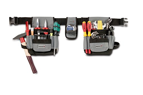 Parat gereedschapsgordel L Parabelt, riemtas voor gereedschap, met insteekvakken, materiaal: nylon (zonder inhoud)