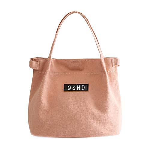 YIXIA Bolsa de lona, bolsa de almuerzo aislada y reutilizable, ideal para niñas, niños, mujeres, hombres, grandes e impermeables para adultos