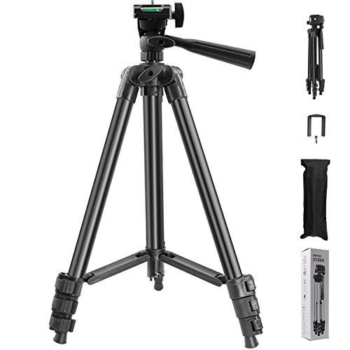 SPOWAY trípode de cámara para teléfono móvil trípode de cámara de aleación de aluminio portátil trípode de teléfono móvil...