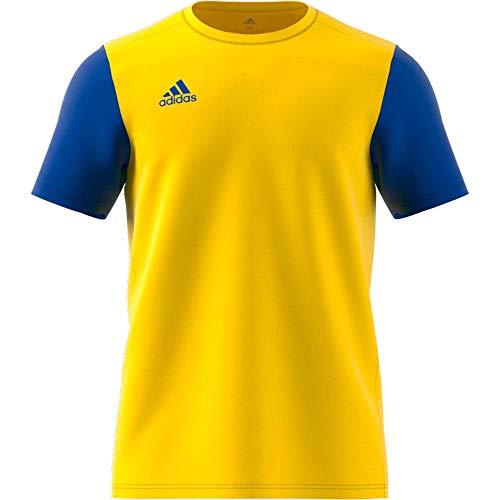 adidas Estro 19 Jersey Camiseta, Niños, Yellow/Bold Blue, 140
