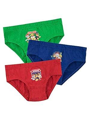 Paw Patrol Ropa Interior para niños Paquete de 3 Multicolor 5-6 años de