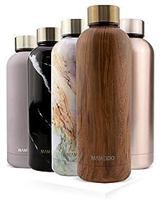 MAMEIDO Botella Agua Acero Inoxidable 750ml - Termo Reutilizable, cantimplora termica sin BPA, Aislamiento de Vacío de Doble Pared para Bebidas Frías 24 Horas y Calientes 12h