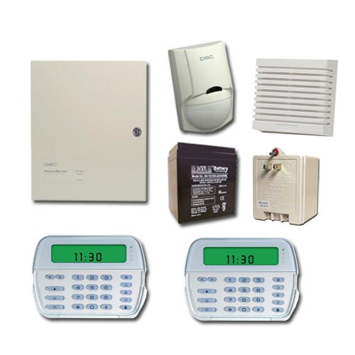 DSC TYCO Alarm System PC1832 with (2) PK5501 Keypad Ver 4.6