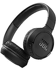 JBL Tune 510BT On-Ear Bluetooth Hörlurar med JBL Pure Bass Ljud och Flerpunktsanslutning och Trådlöst Bluetooth-strömmning, i Svart