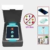 Ktoyols Portable UV Cell Phone Purified Box Mobile Phone Cleaner Box UV Light