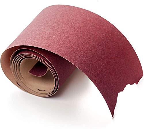 Rodillo Lijador Premium │ 1 pieza │ 115 mm x 10 m │ grano 60 │ Rollo de Papel de Arena │ Papel de Lijado a Mano