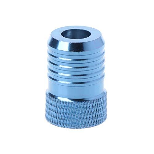 LIUXIA - Puntas de destornillador magnéticas de metal con imán para atornillar, accesorios de colocación