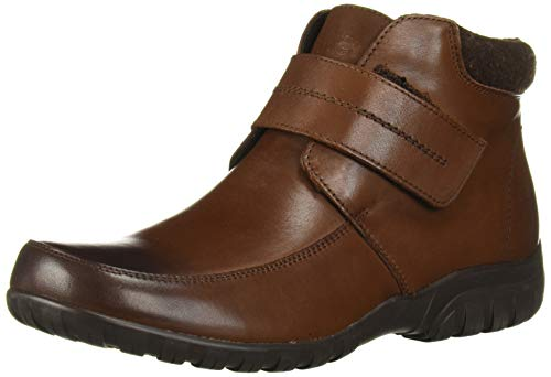 Propét Women's Delaney Strap Ankle Boot, Brown, Numeric_6_Point_5 Narrow