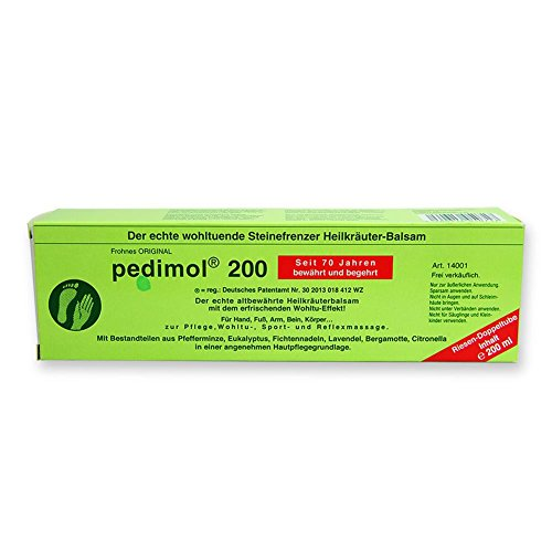 2 x Pedimol 200ml Tube Heilkräutersalbe Creme Hautpflege