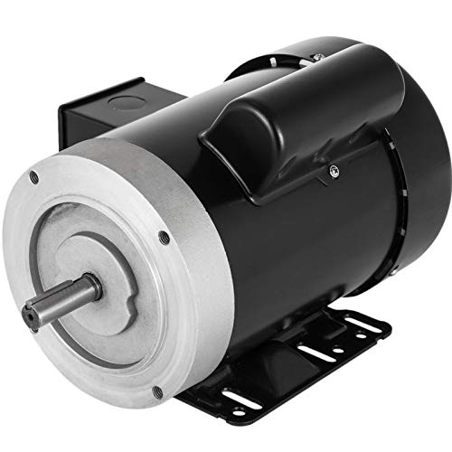 Mophorn Electric AC Motor, 1725rpm 3/4HP Single Phase 56C Frame Air Compressor Motor Reversible 5/8