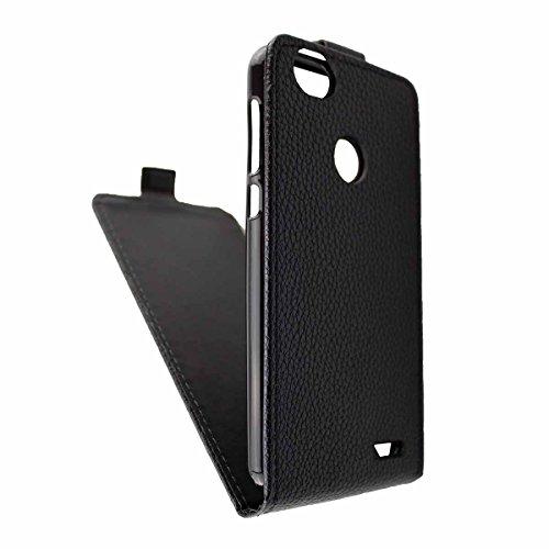caseroxx Flip Cover für Medion Life E5008 MD 60746, Tasche (Flip Cover in schwarz)