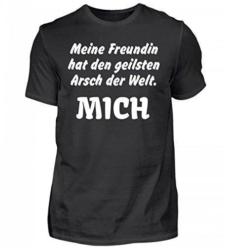Meine Freundin hat den geilsten Arsch der Welt: Mich! | Liebeserklärung Geschenkidee Liebe - Herren Organic Shirt