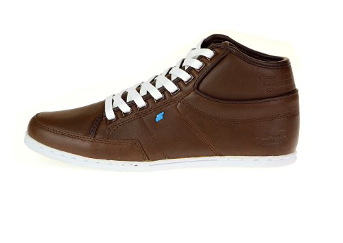 Boxfresh Swapp Lea dark brown, Braun Damen Leder Sneakers, EU 40