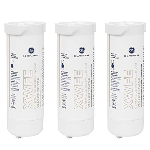GE XWFE Refrigerator Water Filter XWFE Replacement for GE XWFE Water Filter Pack of 3