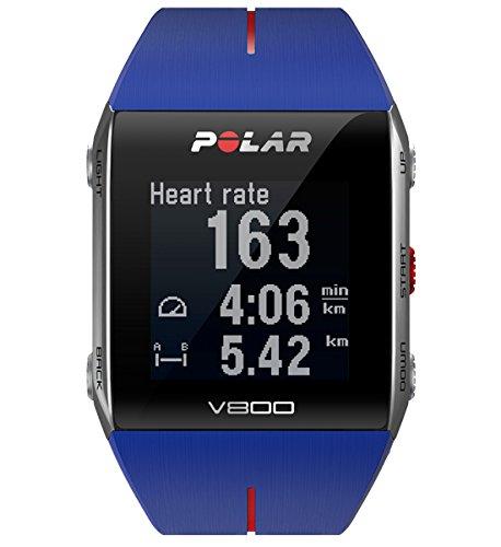 Polar Trainingcomputer V800 V800-Pulsómetro Unisex, Color Azul, Talla única