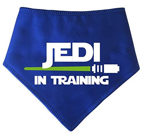 Spoilt Rotten Pets, S2 Jedi in addestramento Spada Laser Design Piccola Bandana Blu per Cani. Cosplay Ispirato a Star Wars Jedi. Adatto per Cani Shih-Tzu, Westies, Terriers e Cockerpoo.