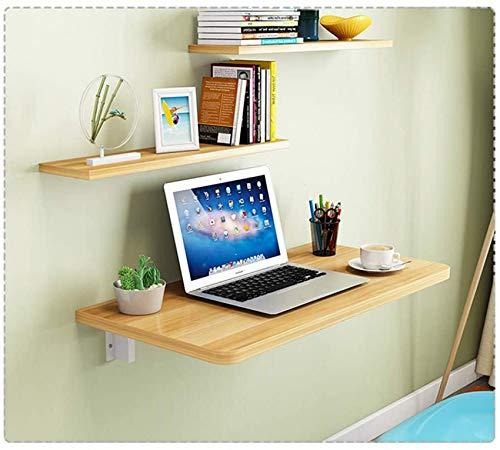 AXAA Mesa plegable de pared con hojas de gota, mesa de comedor de cocina, escritorio de madera para niños, ahorro de espacio