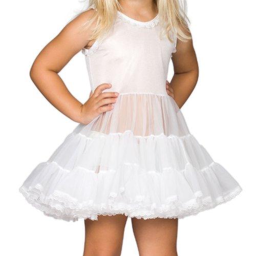 I.C. Collections Baby Girls White Bouffant Slip Petticoat, 12m