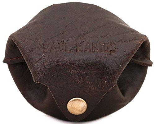L'ESCARCELLE INDUS portafoglio in pelle, borsa de studio, stile monedero epoca PAUL MARIUS Vintage & Retro