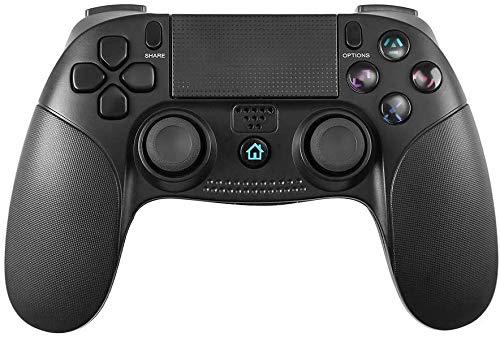 Manette pour PS4, PowerLead Contrôleur de jeu sans fil Wireless Gamepad à écran tactile pour Playstation 4 et Playstation 3 avec double jeu de vibrations Controller
