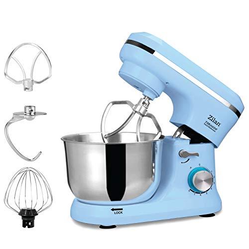 Küchenmaschine | Rührmaschine | Teigmaschine | Knetmaschine | Teigkneter | 1000 Watt | 8 Geschwindigkeitsstufen | Pulsfunktion | 4,5 Liter | …