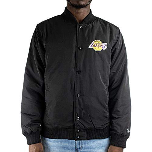 New Era NBA Los Angeles Lakers Team Logo Jacke Herren schwarz, XXL